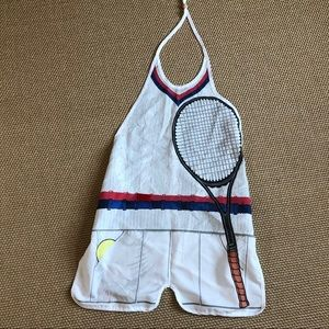 Tennis costume/apron